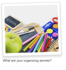 9 Quick Back To School Organizing Tips